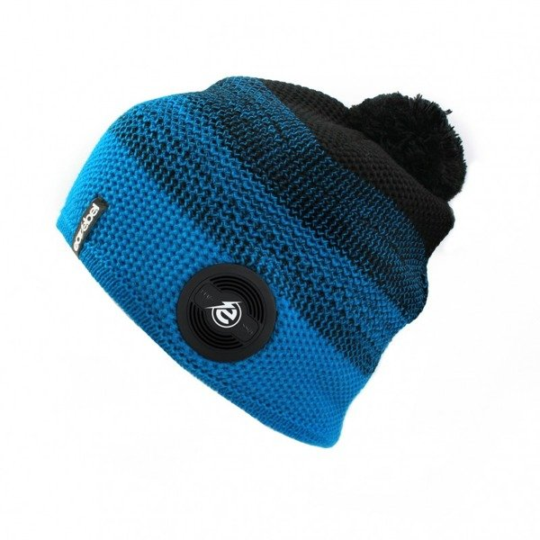 Bluetooth® Warm Up Beanie Turquoise-Black