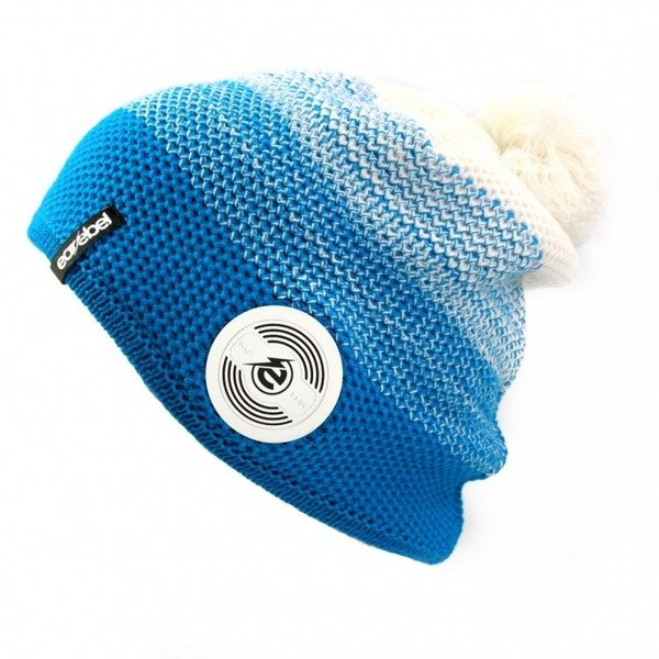 Bluetooth® Warm Up Beanie Turquoise-White