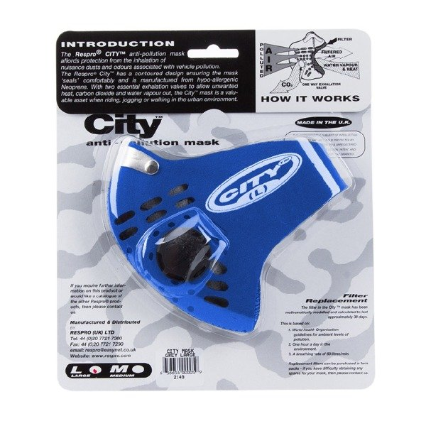 Maska Respro City Blue